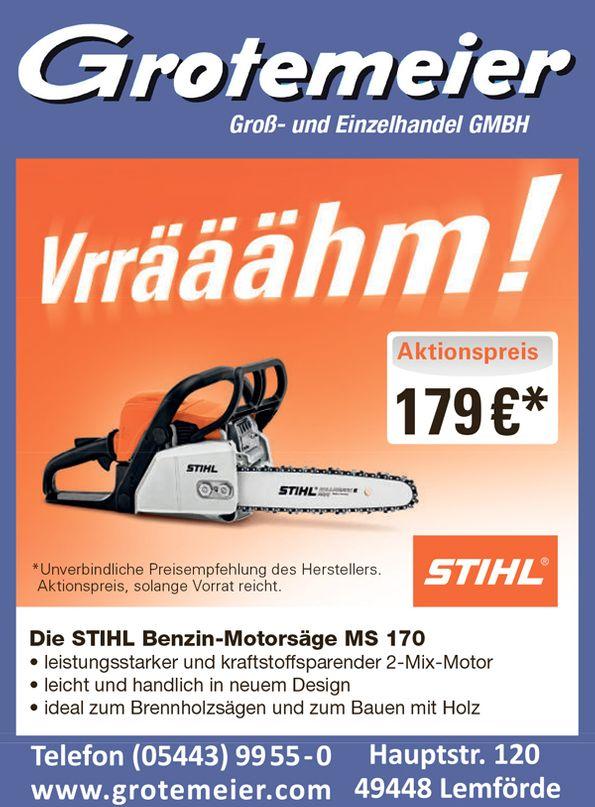 STIHL Benzin-Motorsäge bei Grotemeier Lemförde