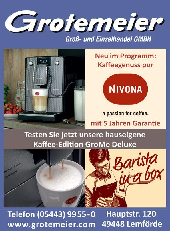 NIVONA Kaffeevollautomaten bei Grotemeier Lemförde