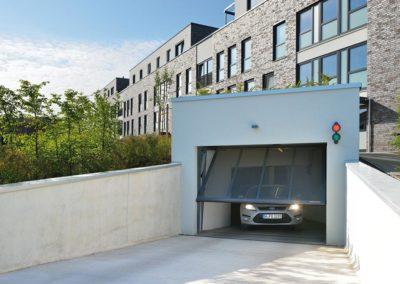 Hörmann Garagentor Mehrfamilienhaus