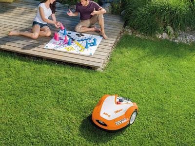 Gartengeräte - Robotorrasenmäher